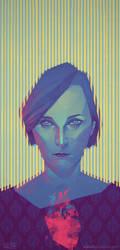 Marina Klaus and Kinski by Odewill