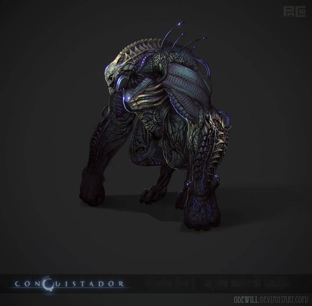 [Conquistador] Alien Mid Skin by Odewill