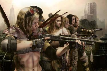 Women of the Wasteland by AbbyDark-Star