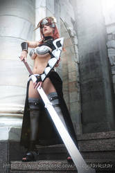 Queen's Blade Claudette by AbbyDark-Star