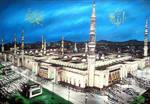 Mosque of beloved prophet by sam1r1