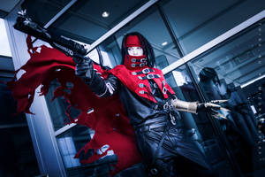 Vincent Valentine ft. Mizuno Cosplay by think-nu