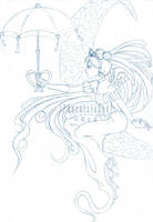 Sailormoon Sketch by PhoenixiaRed