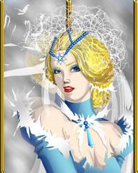 Snow Queen : Amelia by PhoenixiaRed