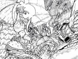Ultimate Final Wars by Deadpoolrus