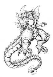 Super Godzilla by Deadpoolrus