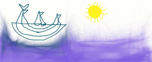 a ship by gokusupersaiyan4