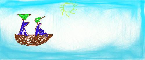 a Sailor Ship by gokusupersaiyan4