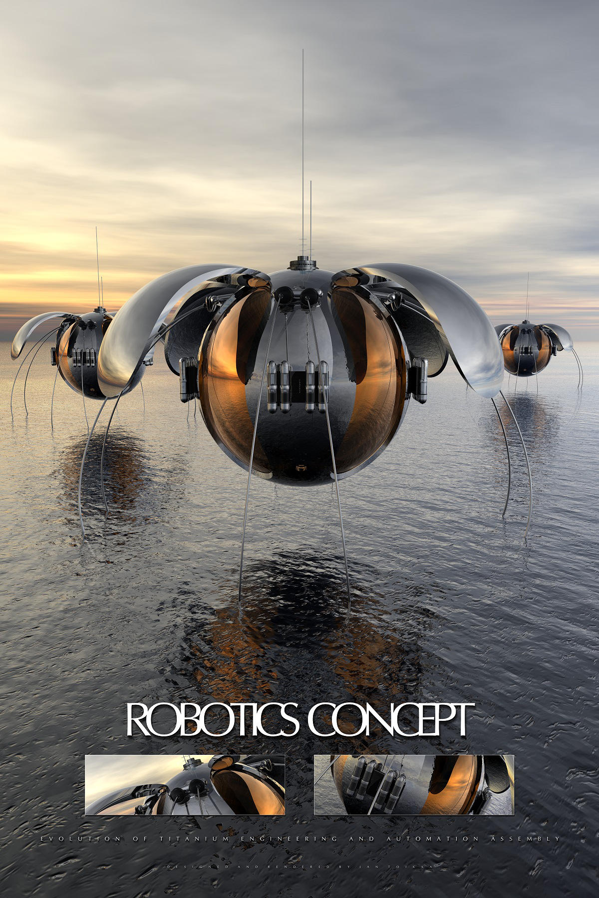 robotics concept by lumous