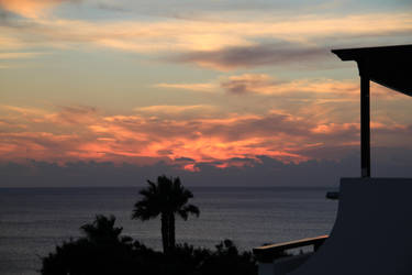 Sunset Balcony by lumous