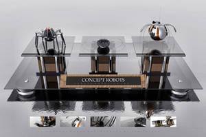 Concept Robots by lumous