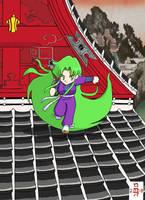 Yae on the rooftops... by rohkova