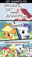 MLP Not Summer's End by LoCeri