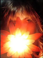 lighting flower and me2 by bingevil-stock