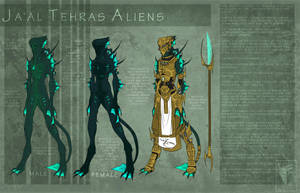 Alien Species Concept 2 by MoonstalkerWerewolf