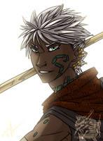 Adali Bust by MoonstalkerWerewolf