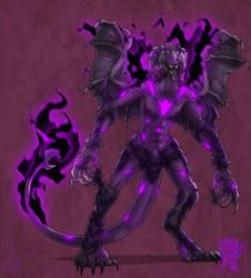 Galaas A'rod (Deus Ologan) by MoonstalkerWerewolf