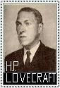 H. P. Lovecraft Stamp by ForgetfulRainn