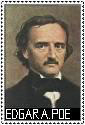 Edgar Allan Poe Stamp by ForgetfulRainn