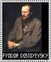Fyodor Dostoyevsky Stamp by ForgetfulRainn