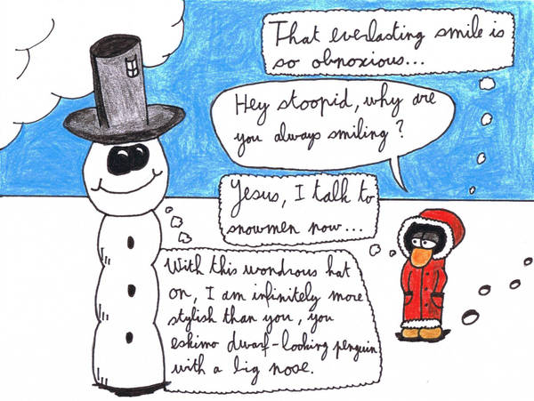 Antarctica Asylum - Snowman 2 by ForgetfulRainn