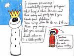 Antarctica Asylum - Snowman 3 by ForgetfulRainn
