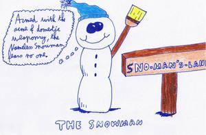 Antarctica Asylum - Snowman by ForgetfulRainn