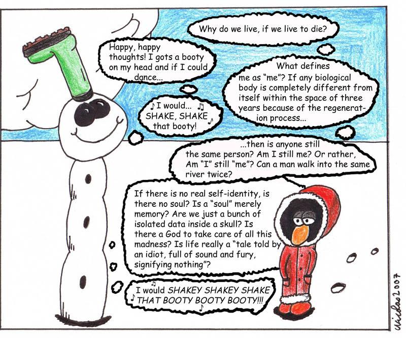 Antarctica Asylum - Snowman 4 by ForgetfulRainn