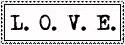 L.O.V.E. Stamp by ForgetfulRainn