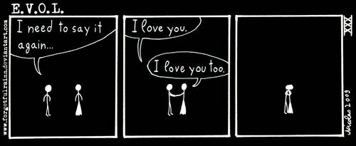 L.O.V.E. - 30 by ForgetfulRainn