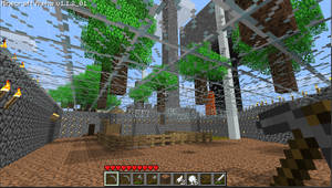Glass Ceiling and Trees by ForgetfulRainn