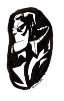 Hellboy by ForgetfulRainn