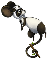 Panda Mouse by Vullo