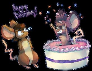 Happy Birthday Melibellule by Vullo
