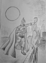 Batman and the Joker by Didiri1337