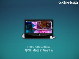Iphone nano by Cekiline