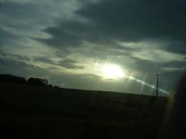 Beaming Sun by nicolapin