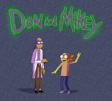 Don and Mikey by Emaberry