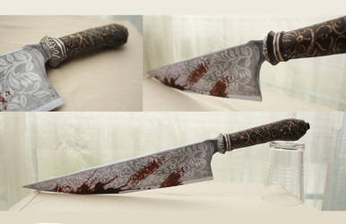 Alice Madness Returns - Vorpal Blade papercraft by ViimaMiu