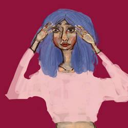 blue blue by maariahscanaryalysso
