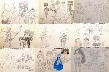 su sketch dump by maariahscanaryalysso