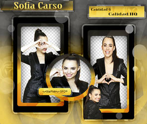 #Pack Sofia Carson 6PNG StarPink OFC by ScarletteStarPink217