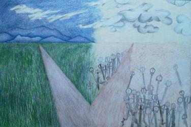Crossroads by Paperchewer