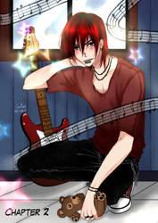 Let's rock - Castiel by Ruu-k-o