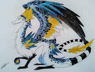 Feathered Dragon by Baraayas