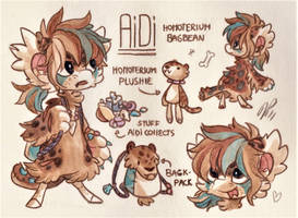 Aidi Ref. Sheet [Commission] by Baraayas