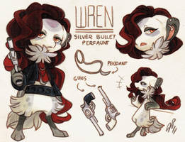 Wren Ref. Sheet [CM] by Baraayas