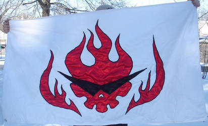 Gurren Lagann Flag by invader-gir