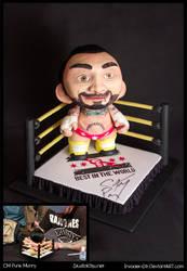 CM Punk Munny by invader-gir