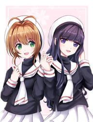 Sakura and Tomoyo by kyuyoukai
